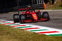 12th September, September 2021; Nationale di Monza, Monza, Italy; FIA Formula 1 Grand Prix of Italy, 55 Carlos  Sainz ESP, Scuderia Ferrari Mission Winnow