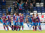 Inverness Caley Thistle v St Johnstone…27.08.16..  Tulloch Stadium  SPFL<br />Josh Meekings celebrates his goal<br />Picture by Graeme Hart.<br />Copyright Perthshire Picture Agency<br />Tel: 01738 623350  Mobile: 07990 594431