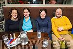 Anna O'Driscoll, Hazel Hallahan, Sinead Kelly and Jorgen Hartogs enjoying the evening in the Brogue Inn on Thursday.