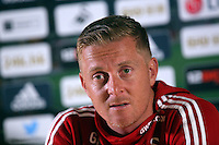 Pictured: Garry Monk. Thursday 17 September 2015<br />