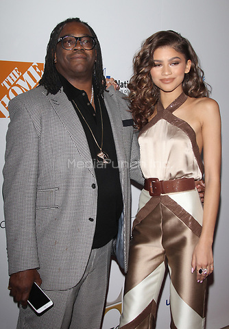 LOS ANGELES, CA - DECEMBER 2: Kazembe Ajamu Coleman and Zendaya pictured at the 2015 Ebony Power 100 Gala in Los Angeles, California on December 2, 2015. Credit: mpi21/MediaPunch
