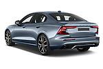 Car pictures of rear three quarter view of 2021 Volvo S60-Recharge Polestar 4 Door Sedan Angular Rear