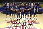 LLIGA NACIONAL CATALANA ACB 2020 AON.<br /> Morabanc Andorra vs Club Joventut Badalona: 77-75.<br /> Morabanc Andorra team.