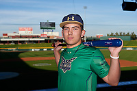 Maxton Peck during the Under Armour All-America Tournament powered by Baseball Factory on January 17, 2020 at Sloan Park in Mesa, Arizona.  (Zachary Lucy/Four Seam Images)