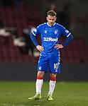 29.02.2020 Hearts v Rangers: Steven Davis dejection