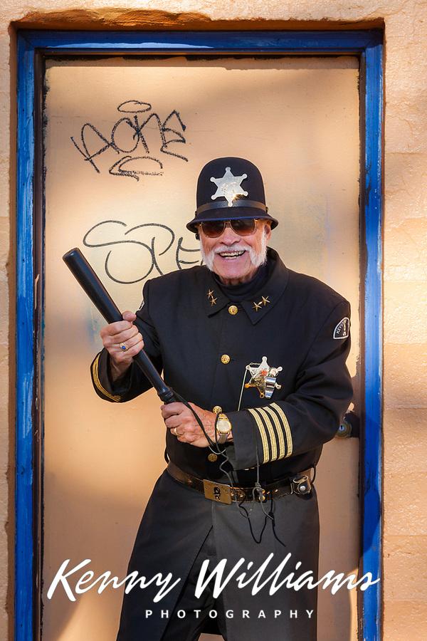 Gene Willard, Keystone Cops, Chinatown Seafair Parade, Seattle, WA, USA.