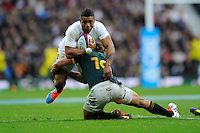 during the QBE International match between England and South Africa at Twickenham Stadium on Saturday 15th November 2014 (Photo by Rob Munro)