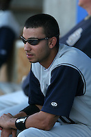 Fort Wayne Wizards Matt Bush during a Midwest League game at Oldsmobile Park on July 13, 2006 in Fort Wayne, Indiana.  (Mike Janes/Four Seam Images)