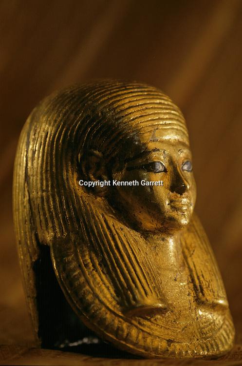 Gold Funerary Mask of Fetus, KV 54,Tutankhamun and the Golden Age of the Pharaohs, Page 125