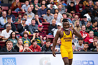 STANFORD, CA - March 7, 2020: Jacori Teemer of Arizona State University during the 2020 Pac-12 Wrestling Championships at Maples Pavilion.