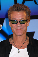 06 October 2020 - Eddie Van Halen, legendary Hall of Fame Guitarist and co-founder of Van Halen -- has died after a long battle with throat cancer at the age of 65. File Photo: 13 August 2007 - Beverly Hills, California - Eddie Van Halen. Van Halen and David Lee Roth Announce North American Tour at the Four Seasons Hotel. Photo Credit: Byron Purvis/AdMedia