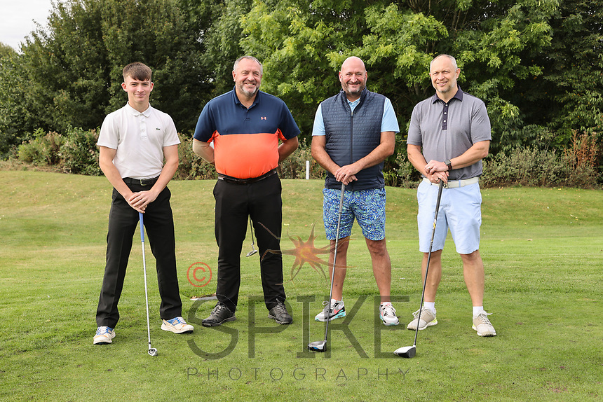 Pictured from left are the  Turner & Townsend team: Ciaron Stenton, Martyn Howie, Paul Ibson and Mark Deakin