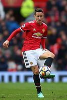 Ander Herrera of Manchester United during the Premier League match between Manchester United and Swansea City at the Old Trafford, Manchester, England, UK. Saturday 31 March 2018