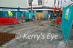 The on going works on Bridge St, Tralee