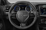 Car pictures of steering wheel view of a 2021 Chrysler 300 S 4 Door Sedan Steering Wheel