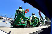 NASCAR XFINITY Series<br /> One Main Financial 200<br /> Dover International Speedway, Dover, DE USA<br /> Saturday 3 June 2017<br /> Daniel Suarez, Subway Toyota Camry, makes a pit stop.<br /> World Copyright: John K Harrelson<br /> LAT Images<br /> ref: Digital Image 17DOV1jh_04918