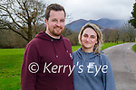 Enjoying a stroll in the Killarney National park on Friday, l to r:  Ciaran Lynch and Viktoraja Venclovaite