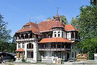 Villa Szarotka in Swieradow Zdroj, Woiwodschaft Niederschlesien (Województwo dolnośląskie), Polen, Europa<br /> Villa Szarotka in Swieradow Zdroj, Poland, Europe