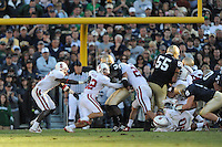 South Bend, IN - OCTOBER 4:  Safety Sean Wiser #32 of the Stanford Cardinal during Stanford's 28-21 loss against the Notre Dame Fighting Irish on October 4, 2008 at Notre Dame Stadium in South Bend, Indiana.