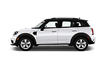 Car Driver side profile view of a 2019 MINI Countryman 5-Door 5 Door Hatchback Side View