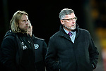 St Johnstone v Hearts…30.10.19   McDiarmid Park   SPFL<br />Craig Levein and assistant Austin McPhee<br />Picture by Graeme Hart.<br />Copyright Perthshire Picture Agency<br />Tel: 01738 623350  Mobile: 07990 594431