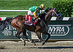 June 7, 2014: Palace Malice, ridden by John Velazquez, wins the Metropolitan Handicap on Belmont Stakes Day at Belmont Park in Elmont, New York. Scott Serio/ESW/CSM