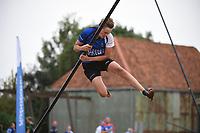FIERLJEPPEN: IJLST: 24-07-2021,1e klasse fierljeppen, ©foto Martin de Jong