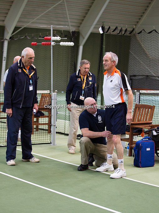 Hilversum, The Netherlands, 05.03.2014. NOVK ,Nat.Indoor Veterans Championships of 2014<br /> Photo:Tennisimages/Henk Koster