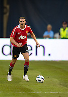 July 16, 2010  John O'Shea No. 22 of Manchester United during an international friendly between Manchester United and Celtic FC at the Rogers Centre in Toronto.