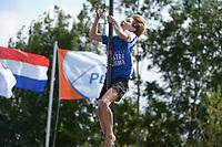 FIERLJEPPEN: KOCKENGEN: 28-08-2021, NK Fierljeppen Jeugd, Jorrit Bouwstra (Reduzum) in de categorie jongens 11-12 met 11,07m, ©foto Martin de Jong