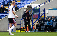 Oldham Athletic's manager Harry Kewell looks on <br /> <br /> Photographer Andrew Kearns/CameraSport<br /> <br /> The EFL Sky Bet League Two - Bolton Wanderers v Oldham Athletic - Saturday 17th October 2020 - University of Bolton Stadium - Bolton<br /> <br /> World Copyright © 2020 CameraSport. All rights reserved. 43 Linden Ave. Countesthorpe. Leicester. England. LE8 5PG - Tel: +44 (0) 116 277 4147 - admin@camerasport.com - www.camerasport.com
