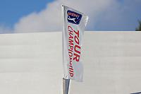 5th September 2021: Atlanta, Georgia, USA; A TOUR Championship flag during the 4th and final round of the TOUR Championship  at the East Lake Club in Atlanta, Georgia.