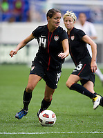 Stephanie Cox. The USWNT defeated Mexico, 1-0, during the game at Red Bull Arena in Harrison, NJ.