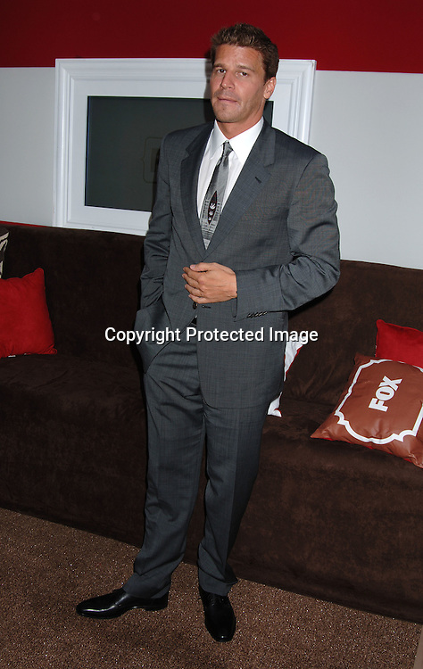 """David Boreanaz of""""Bones""""..at The Fox Upfront 2006-2007  Fall Announcement ..of their new Schedule on May 18, 2006..at Guastavinos...Robin Platzer, Twin Images"""