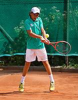 05-08-13, Netherlands, Dordrecht,  TV Desh, Tennis, NJK, National Junior Tennis Championships, Wisse Jonker  Wietse Post<br /> <br /> <br /> Photo: Henk Koster