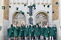 Cap and Gown Mass 2018