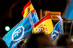 Supporters of the Partido Popular attends to the headquarter of Partido Popular to celebrate the victory of the Spanish Elections in Madrid. June 26, 2016. (ALTERPHOTOS/BorjaB.Hojas)