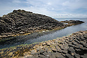 Basalt columns, Isle of Staffa, Inner Hebrides, Scotland, UK