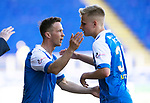 St Johnstone v Ross County…12.05.18…  McDiarmid Park    SPFL<br />Chris Millar comes on for Ally McCann for his last game for sainst<br />Picture by Graeme Hart. <br />Copyright Perthshire Picture Agency<br />Tel: 01738 623350  Mobile: 07990 594431