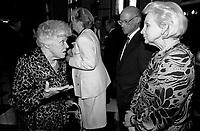 April 11, 1990 File Photo - <br /> <br /> <br /> <br />  Jeanne Sauve, Governor General of Canada L)