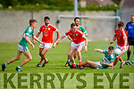 Action fromBrosna v Listry in the Junior Premier Football Championship quarter final.