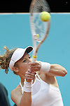 Laura Siegemun, Germany, during Madrid Open Tennis 2016 match.May, 3, 2016.(ALTERPHOTOS/Acero)