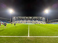 Baustelle und Innenraum im Stadion am Boellenfalltor<br /> - 27.01.2021 Fussball 2. Bundesliga, Saison 20/21, Spieltag 18, SV Darmstadt 98 - SV Sandhausen, Stadion am Boellenfalltor, emonline, emspor, <br /> <br /> Foto: Marc Schueler/Sportpics.de<br /> Nur für journalistische Zwecke. Only for editorial use. (DFL/DFB REGULATIONS PROHIBIT ANY USE OF PHOTOGRAPHS as IMAGE SEQUENCES and/or QUASI-VIDEO)