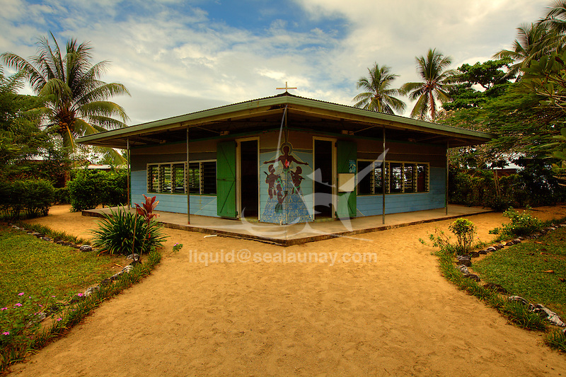 Nimoa Island - here the island mission will impress. The five-sided church features murals of island life and all mission buildings are surrounded by well maintained paths and gardens filled with flowering plants. Edged by jungle-covered mountains, postcard beaches and crystal clear waters - an island paradise indeed!.The Louisiade Archipelago is a string of ten larger volcanic islands frequently fringed by coral reefs, and 90 smaller coral islands located 200 km southeast of New Guinea, stretching over more than 160 km and spread over an ocean area of 26,000 km? between the Solomon Sea to the north and the Coral Sea to the south. The aggregate land area of the islands is about 1,790 km? (690 square miles), with Vanatinai (formerly Sudest or Tagula as named by European claimants on Western maps) being the largest..Sideia Island and Basilaki Island lie closest to New Guinea, while Misima, Vanatinai, and Rossel islands lie further east..The archipelago is divided into the Local Level Government (LLG) areas Louisiade Rural (western part, with Misima), and Yaleyamba (western part, with Rossell and Tagula islands. The LLG areas are part of Samarai-Murua District district of Milne Bay. The seat of the Louisiade Rural LLG is Bwagaoia on Misima Island, the population center of the archipelago.