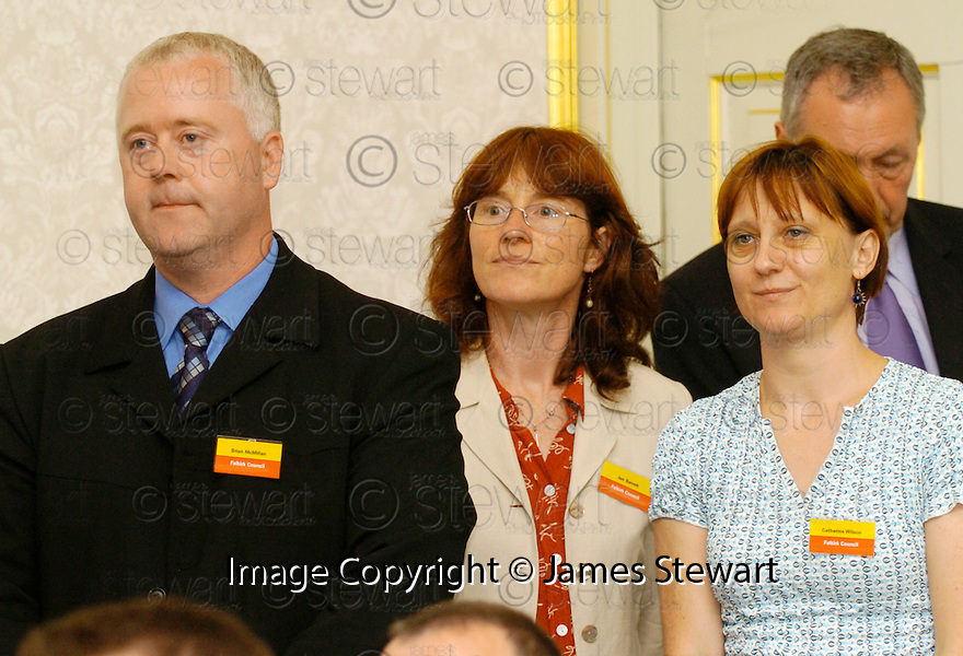 """24/08/2005         Copyright Pic : James Stewart.File Name : jspa15_litter.THE FALKIRK COUNCIL """"COMMUNITY LITTER PLAN"""" AND """"LITTERZONE WEBSITE"""" LAUNCH AT CALLENDAR HOUSE, 24TH AUGUST 2005......Payments to :.James Stewart Photo Agency 19 Carronlea Drive, Falkirk. FK2 8DN      Vat Reg No. 607 6932 25.Office     : +44 (0)1324 570906     .Mobile   : +44 (0)7721 416997.Fax         : +44 (0)1324 570906.E-mail  :  jim@jspa.co.uk.If you require further information then contact Jim Stewart on any of the numbers above........."""