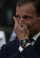 Calcio, Serie A: Juventus - Genoa, Turin, Allianz Stadium, October 20, 2018.<br /> Juventus' coach Massimiliano Allegri prior to the Italian Serie A football match between Juventus and Genoa at Torino's Allianz stadium, October 20, 2018.<br /> UPDATE IMAGES PRESS/Isabella Bonotto