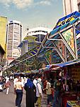 People at the market in Little India, Kuala Lumpur