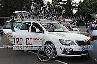 "Spare cycles on the team car during the Abergavenny Festival of Cycling ""Grand Prix of Wales"" race on Sunday 17th 2016<br /> <br /> <br /> Jeff Thomas Photography -  www.jaypics.photoshelter.com - <br /> e-mail swansea1001@hotmail.co.uk -<br /> Mob: 07837 386244 -"
