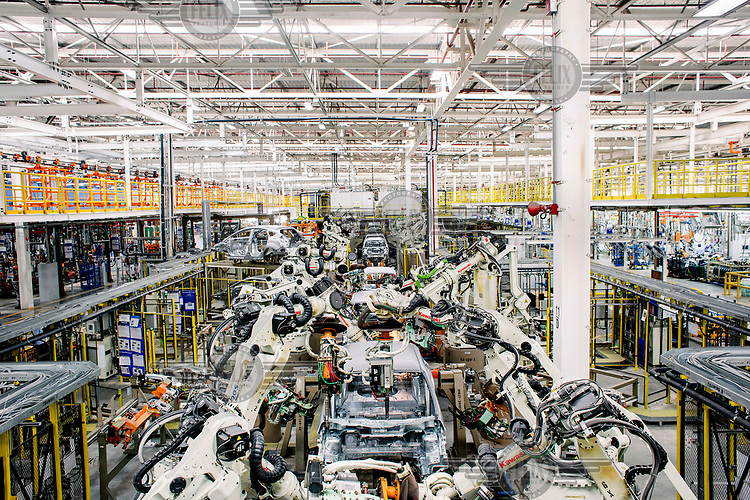 The robotic production line at the new, state of the art Ford Factory, in Rayong. The area has become known as the 'Detroit of the East'. Detroit-based General Motors Co. and Ford Motor Co., have modern factories here and Japanese carmakers have set up even bigger production bases. Last year Thailand leapfrogged Canada, France, Spain, Russia and the U.K to become the world's 9th biggest motor vehicle manufacturer, producing 2.5 million cars and trucks although only a small percentage of those vehicles are sold in Thailand. Almost one-fifth of all cars imported into Australia are manufactured in the 'Detroit of the East'. While from its Rayong base, Ford exports light trucks to markets as far afield as Pakistan and Ireland.