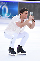 """Max Evans<br /> at the """"Dancing on Ice"""" launch photocall, natural History Museum, London<br /> <br /> <br /> ©Ash Knotek  D3365  19/12/2017"""